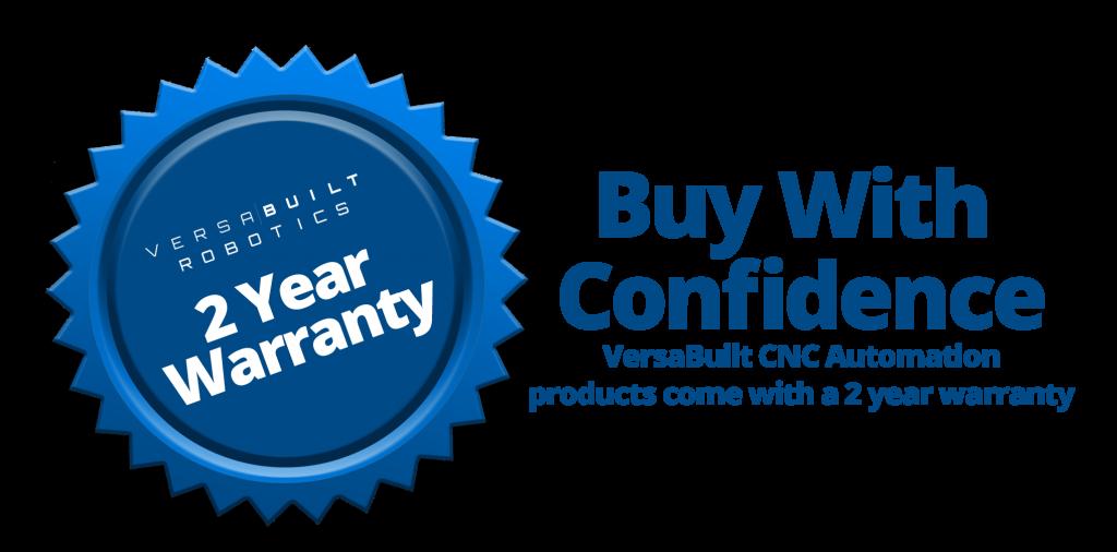VersaBuilt Warranty Seal