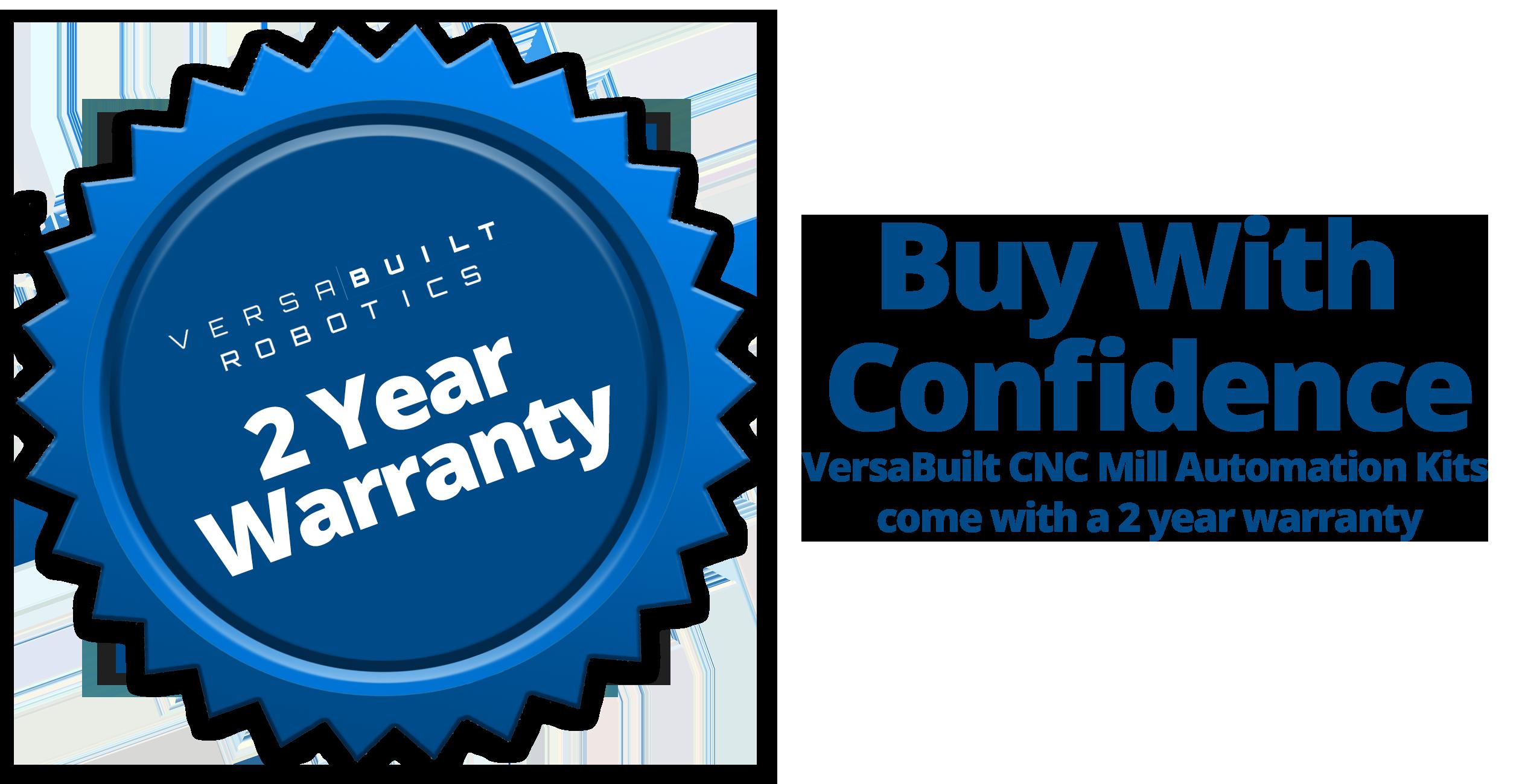 VersaBuilt Warranty Seal 2